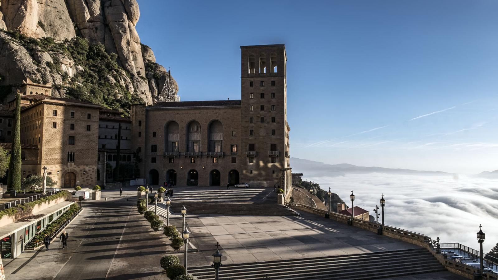 Montserrat, una de les institucions més reconegudes de Catalunya.