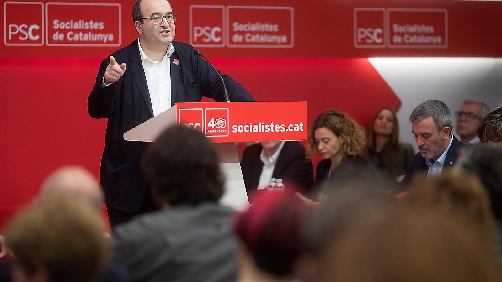 ERC i el PSC, els únics amb la maquinària electoral greixada