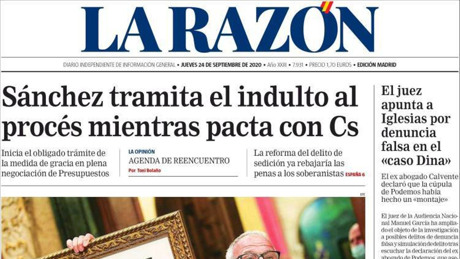 La Razón 24/9