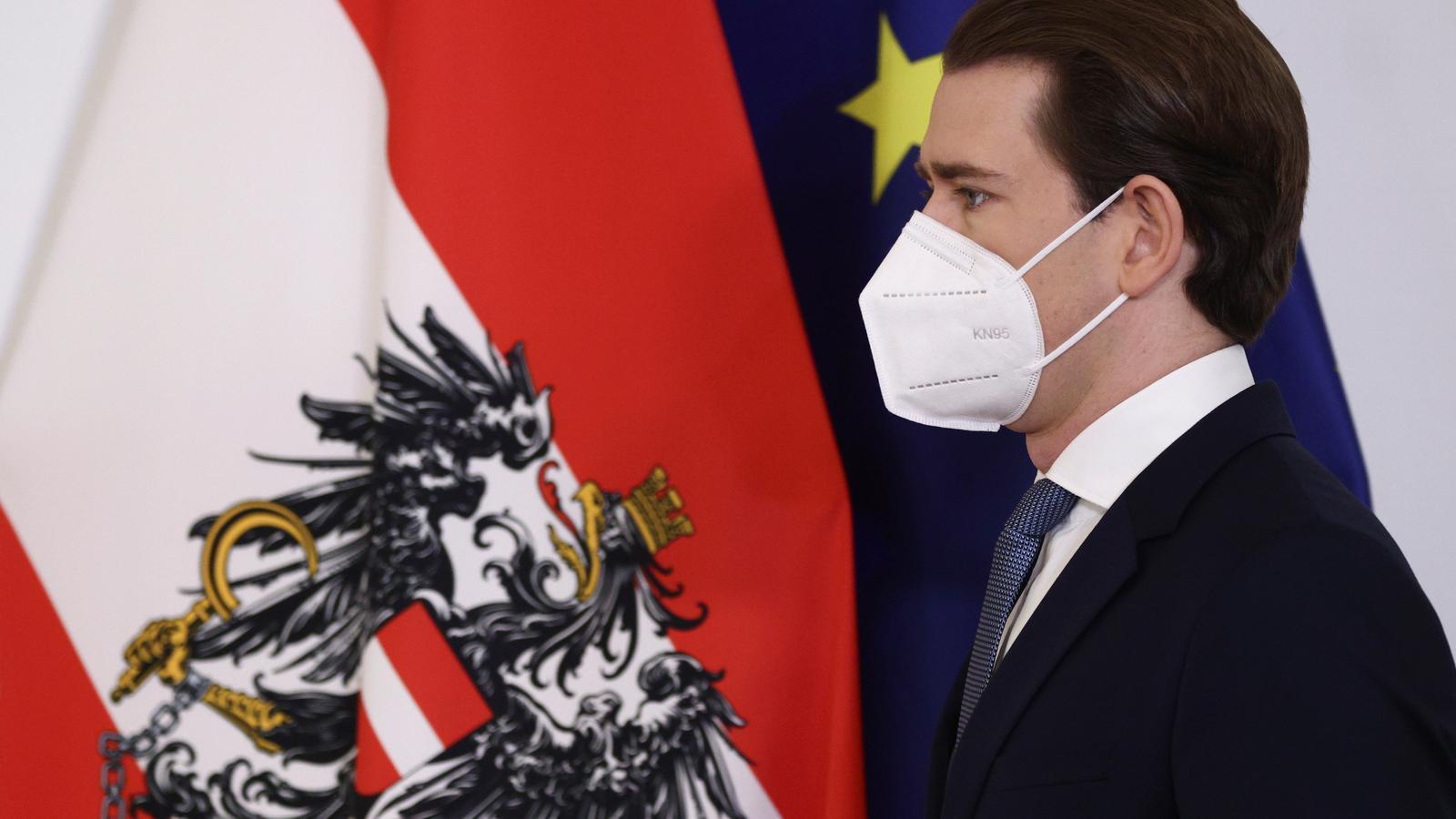 El canceller austríac, Sebastian Kurz, aquets diumenge