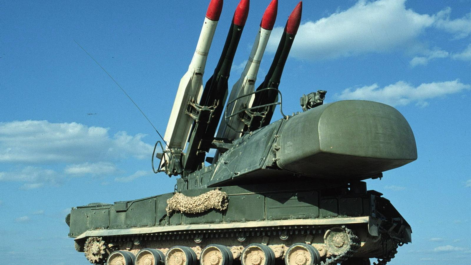 Els míssils Tor-M1 soviètics que l'Iran va disparar contra l'avió ucraïnès, durant un entrenament militar a Rússia.