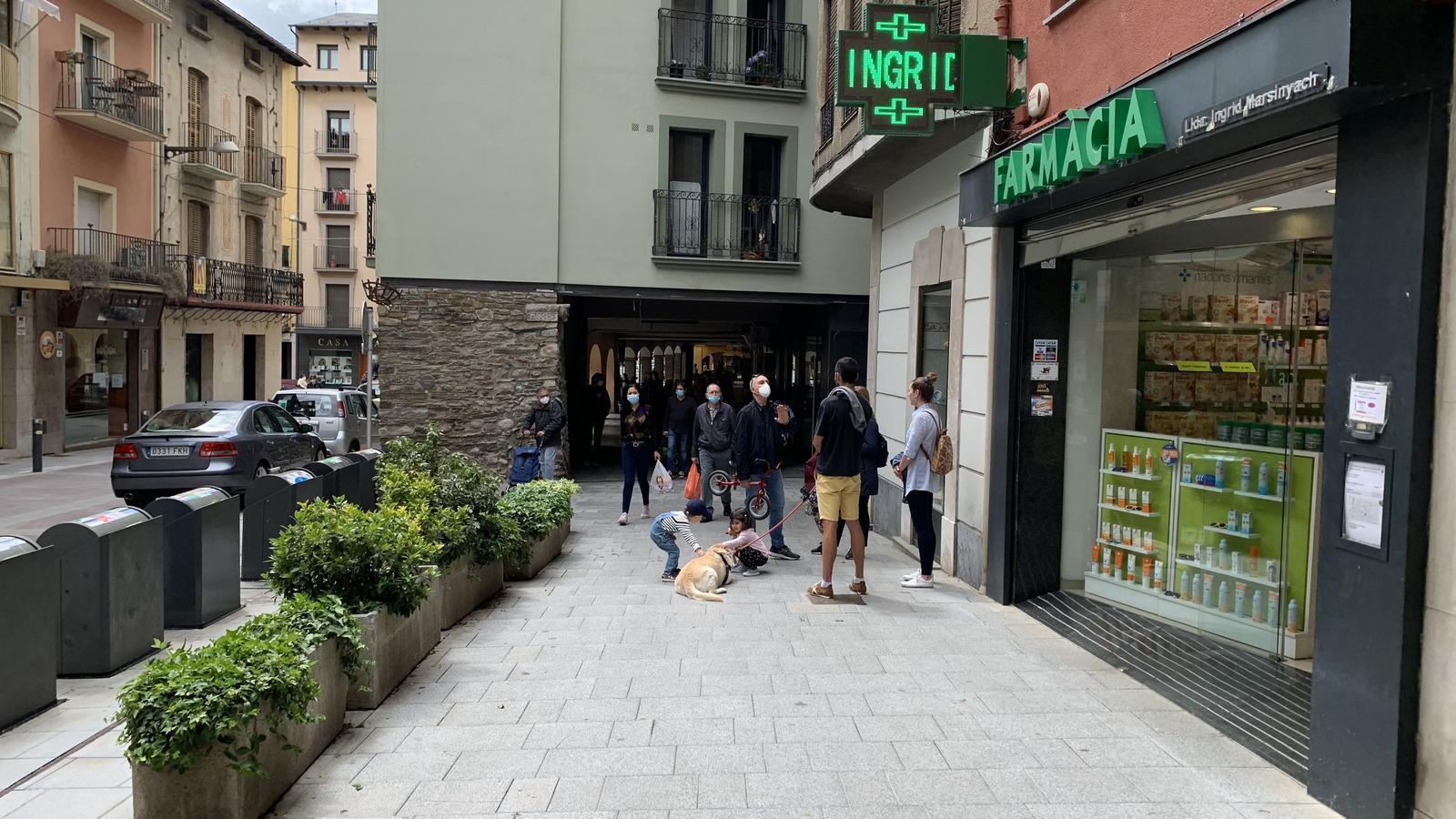 El carrer Major de la Seu d'Urgell. / G.L.