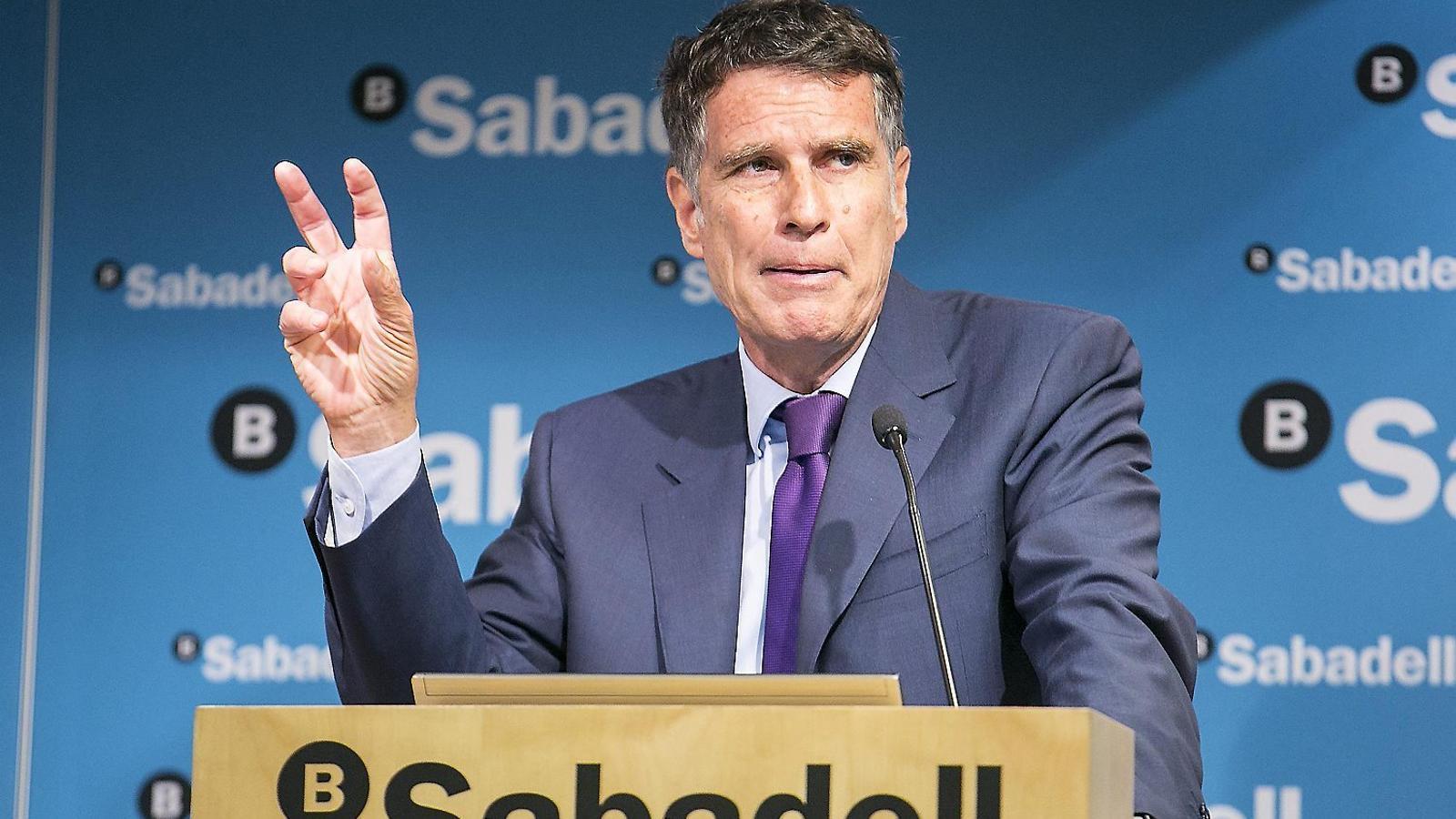 Sabadell i Bankia avisen d'una frenada del benefici