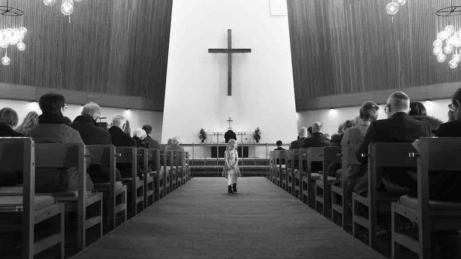 Una de les esglésies de les Fèroe, de confessió luterana. El 80% de la població es declara practicant / Guillem Trius