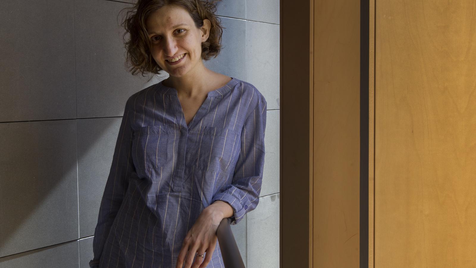 Anna Punsoda, a Barcelona, aquest dijous