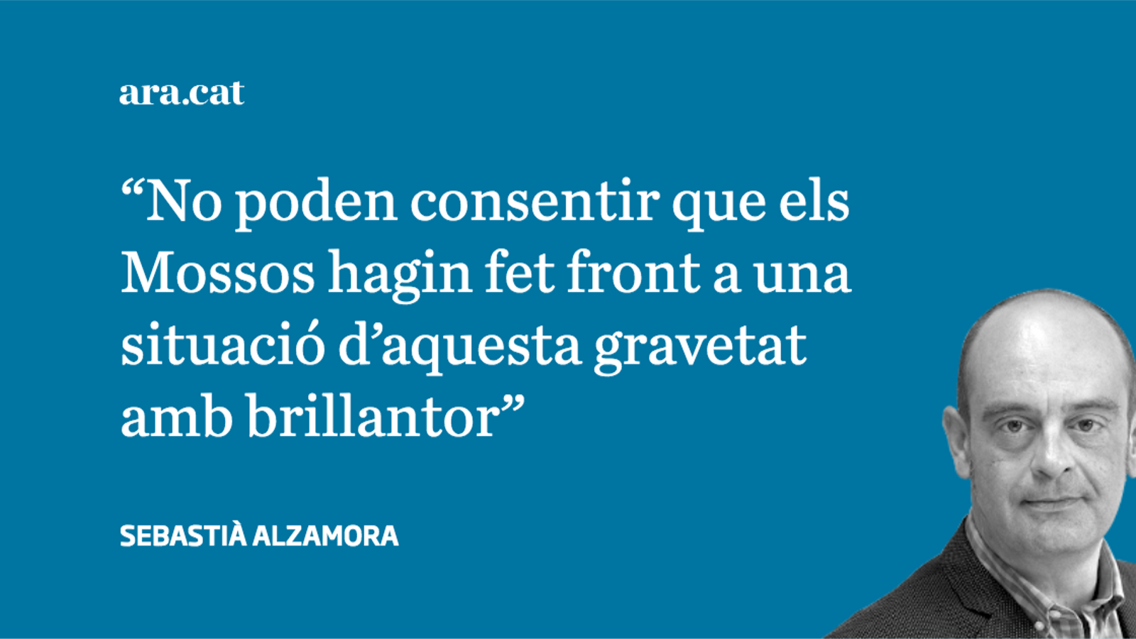 Un estat autosuficient, diu la policia espanyola
