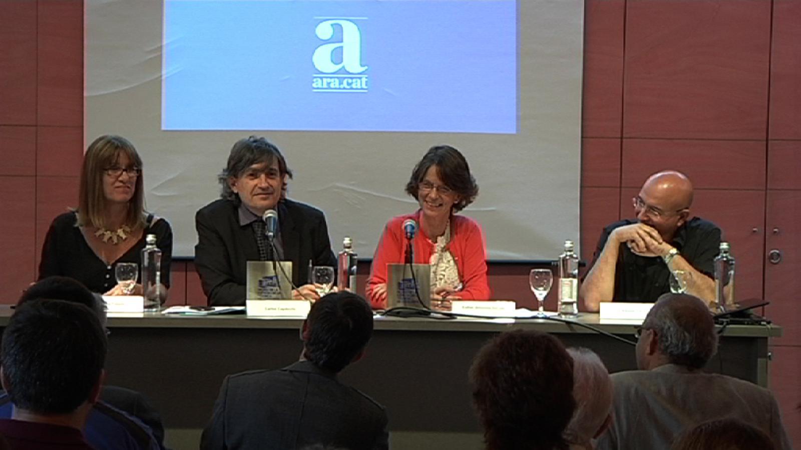 Joan Manuel Tresserras a l'#aradebats sobre el futur de les universitats: Hem d'aspirar a l'elitisme multitudinari