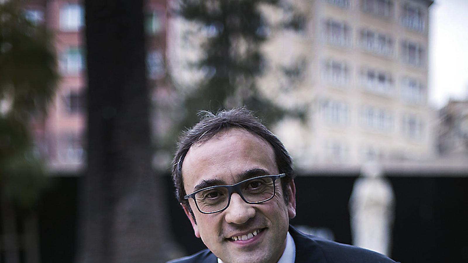 """Josep Rull: """"No té sentit repetir estratègia. Cal buscar el mateix objectiu   per altres camins"""""""