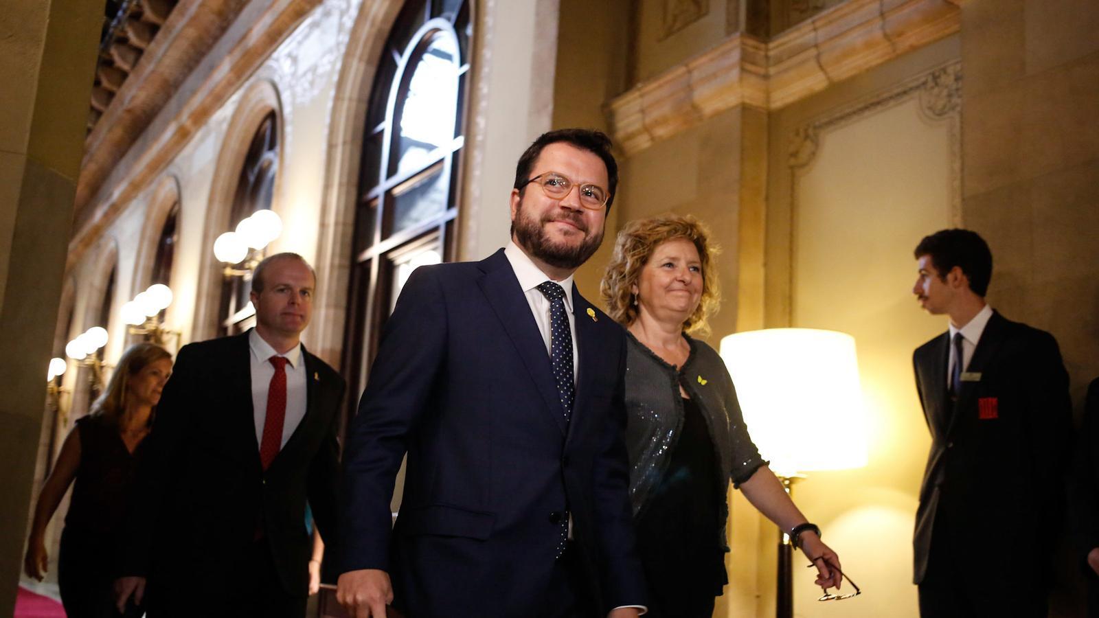 Aragonès anuncia que portarà l'Estat als tribunals pels impagaments i convida la resta d'autonomies a sumar-s'hi