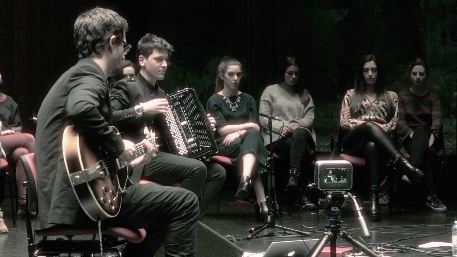 Contundent agermanament musical amb la nova generació del jazz portuguès