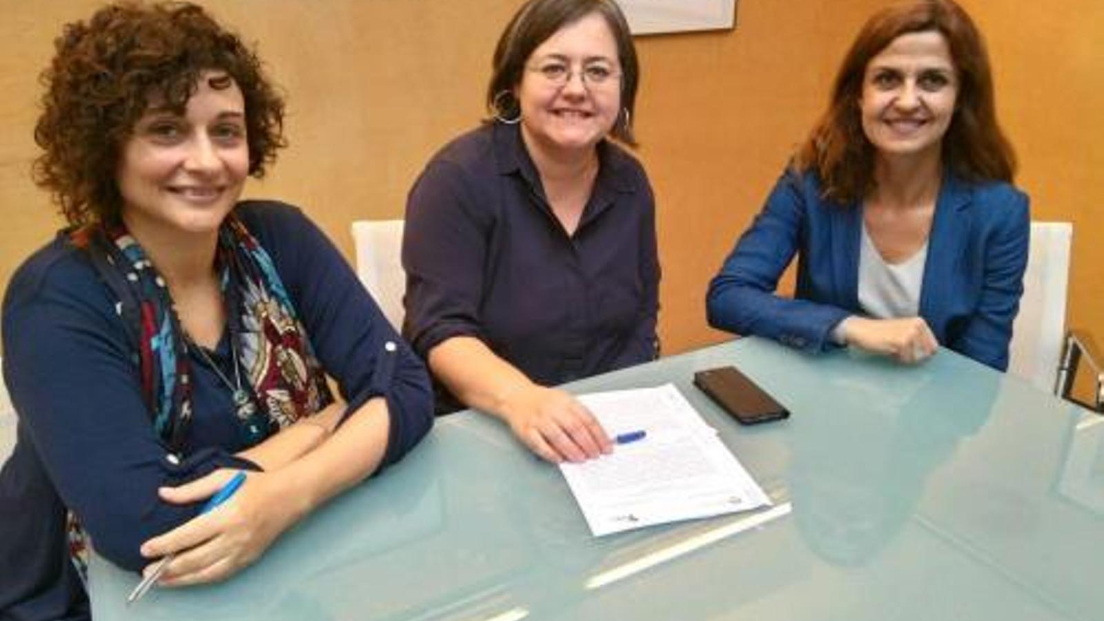 Cristina Gómez és la titular del departament en polítiques d'Habitatge Social del Consell Insular de Menorca.
