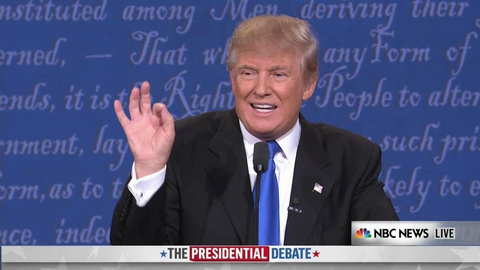 Trump diu que no va donar suport a la invasió de l'Iraq