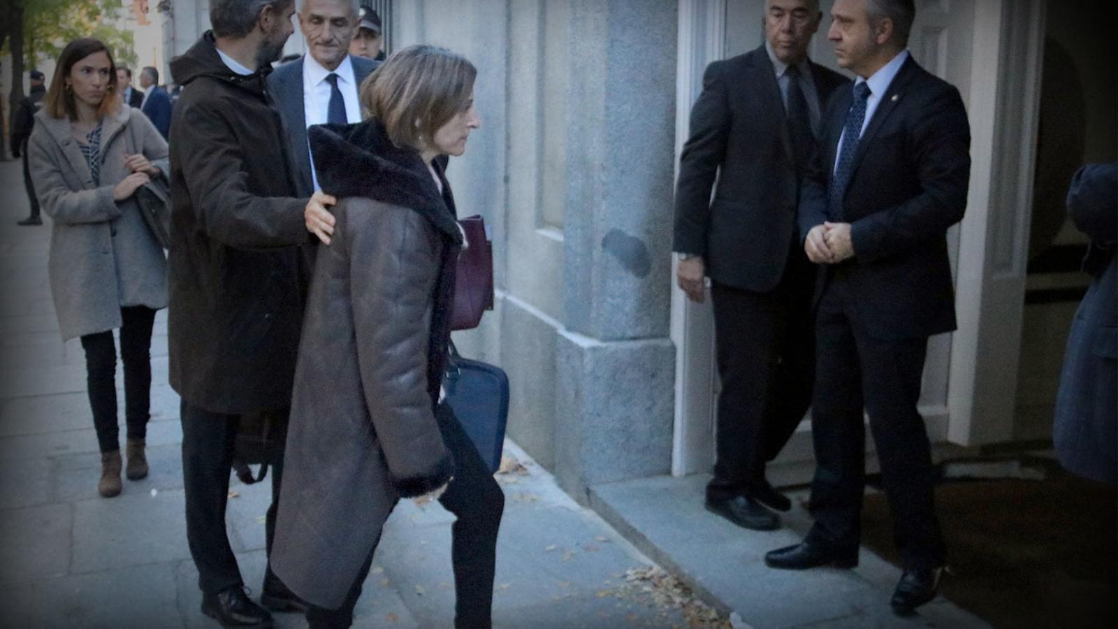 L'anàlisi d'Antoni Bassas: 'La presidenta del Parlament a la presó, vergonya per a l'Estat'
