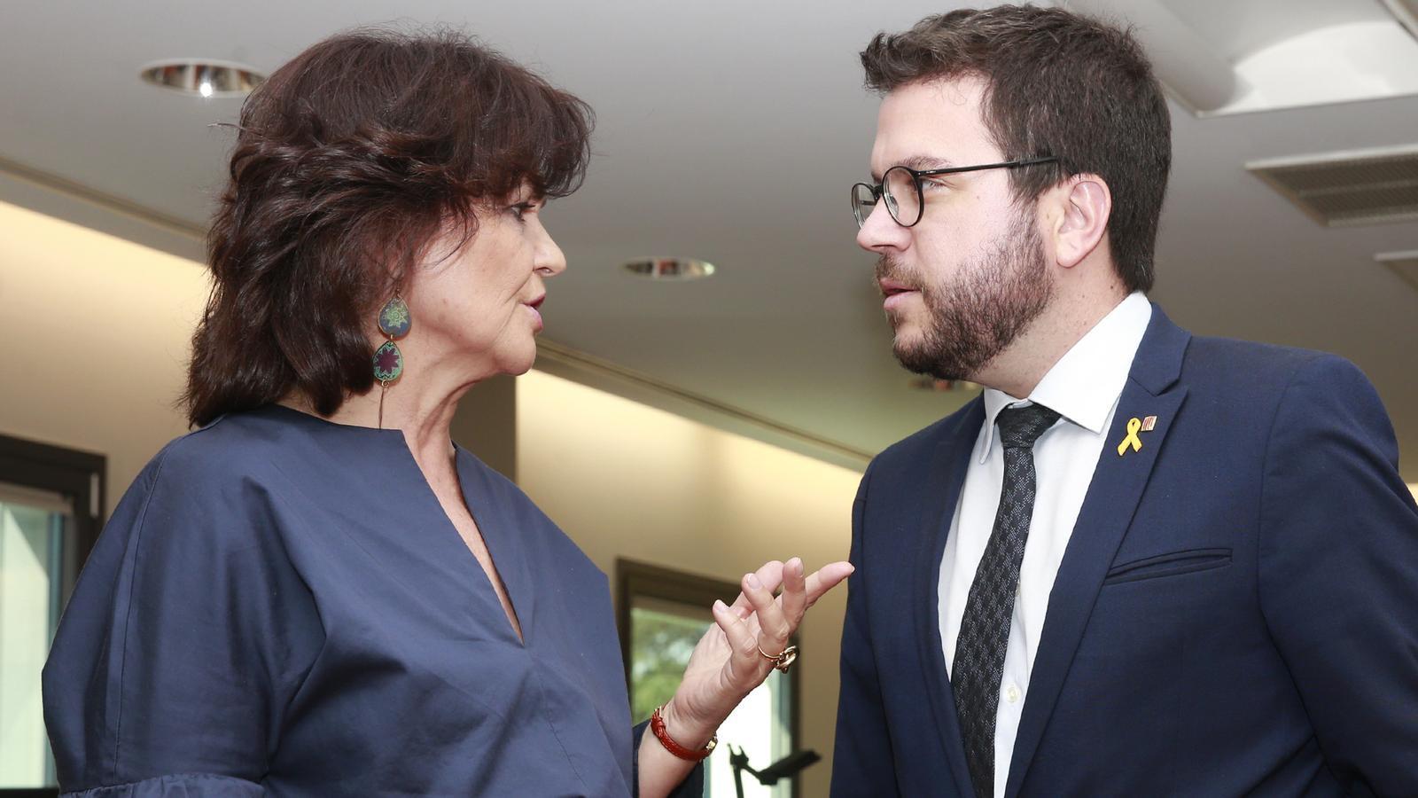 El Govern estudia si accepta una reunió Torra-Sánchez el 21-D