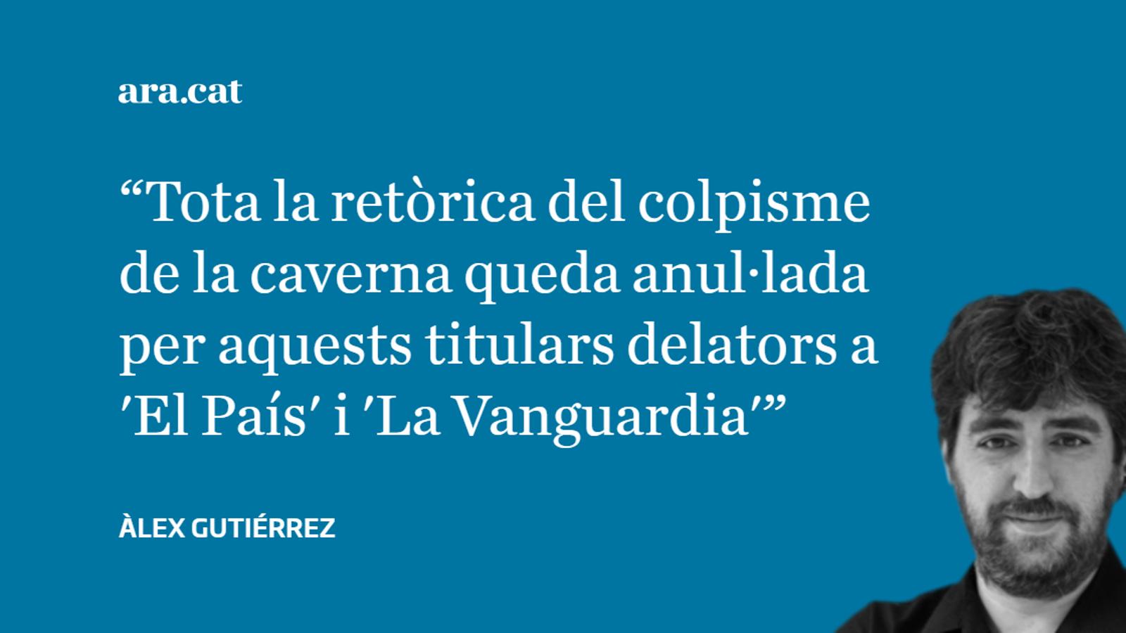 'La Vanguardia' i 'El País' admeten que la repressió és contra Catalunya
