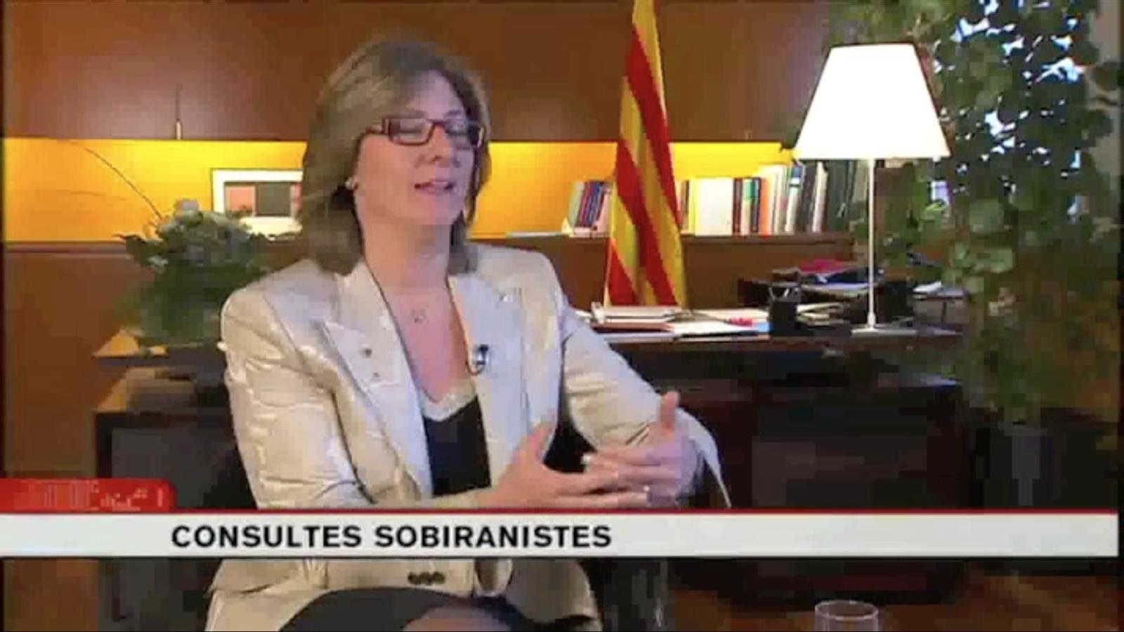 Bozal diu a TV3 que respecta profundament les consultes sobiranistes