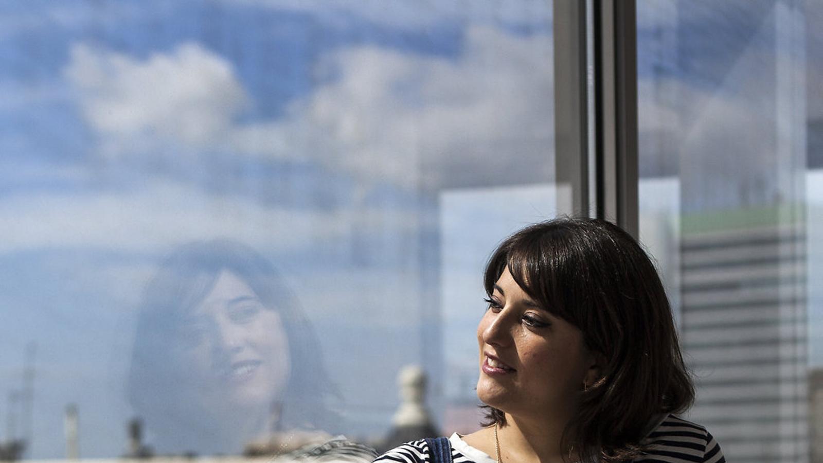 A l'actriu Estel Solé li van detectar endometrosi quan intentava quedar-se embarassada.