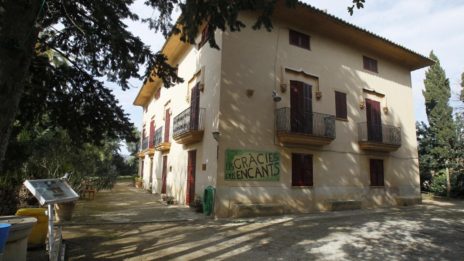 La casa de Can Gazà. / ARA BALEARS