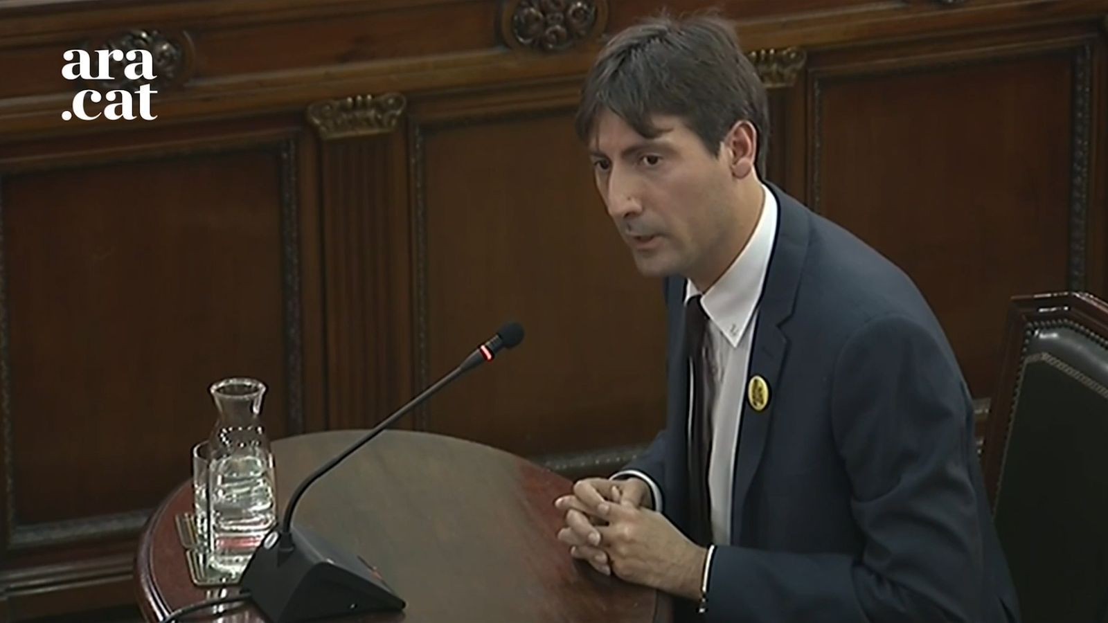 """Jordi Solé: """"Junqueras va fer una """"crida a la calma"""""""