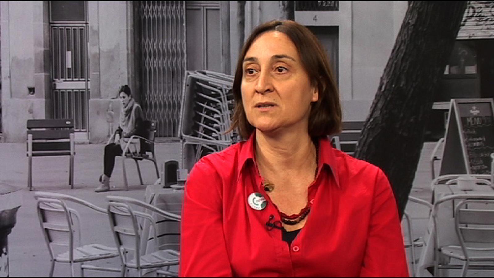 Itziar González: Els banquers són l'obsolescència programada del capitalisme