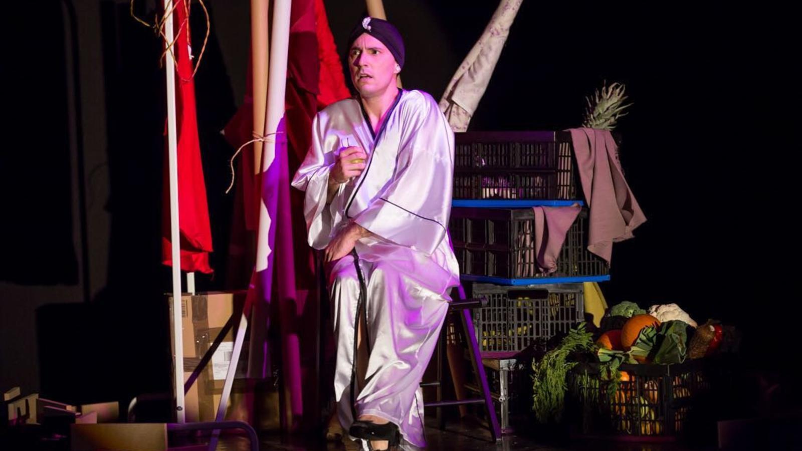 Espectacle de Kike Ayala al festival S'Illo de Santanyí.