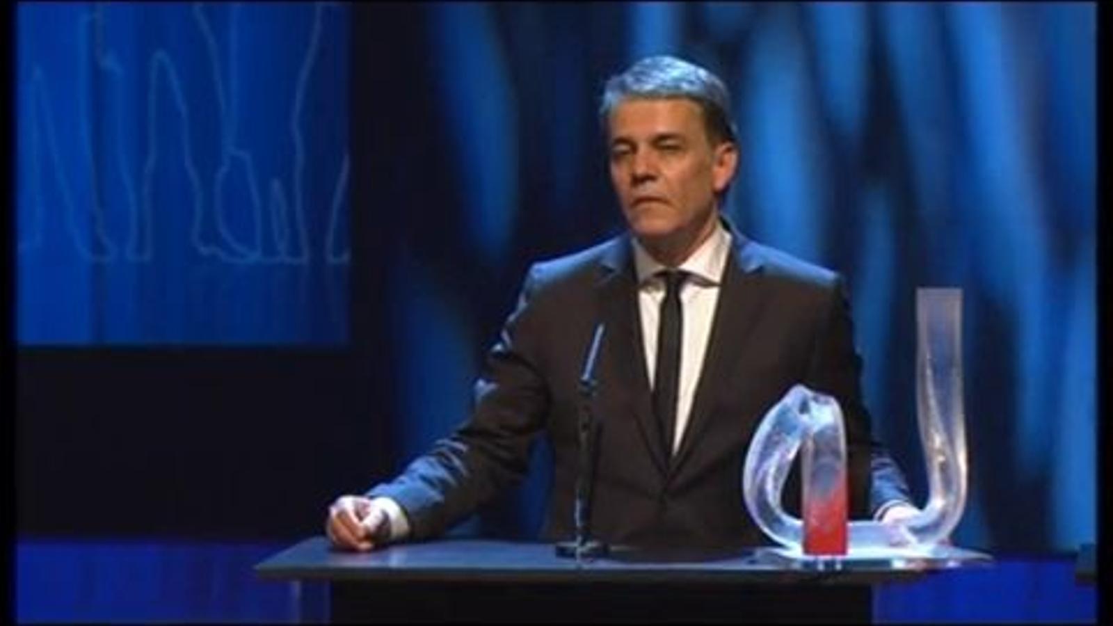 El discurs de Puyal, a la gala del Català de l'Any