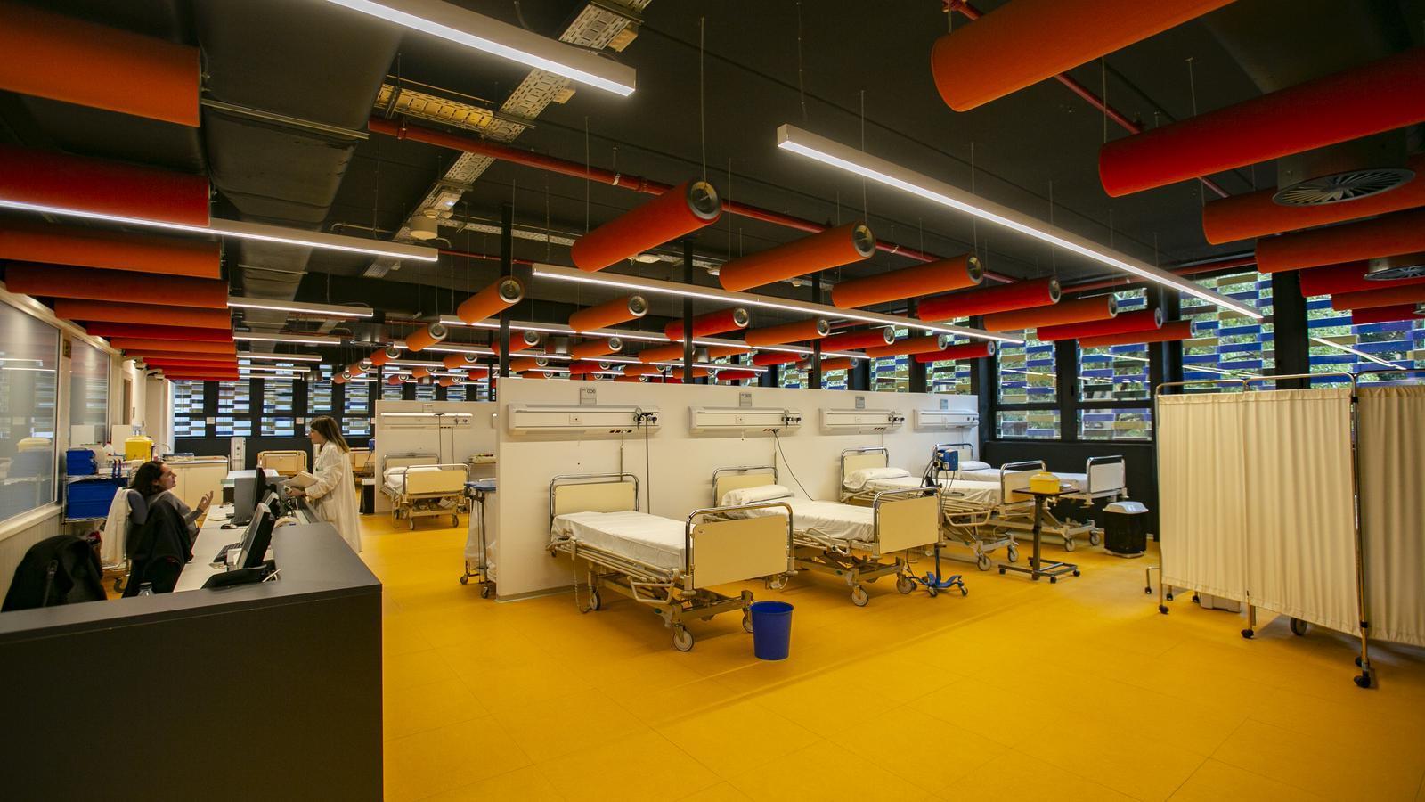 L'Hospital de Sant Pau inaugura el nou edifici de l'institut de recerca