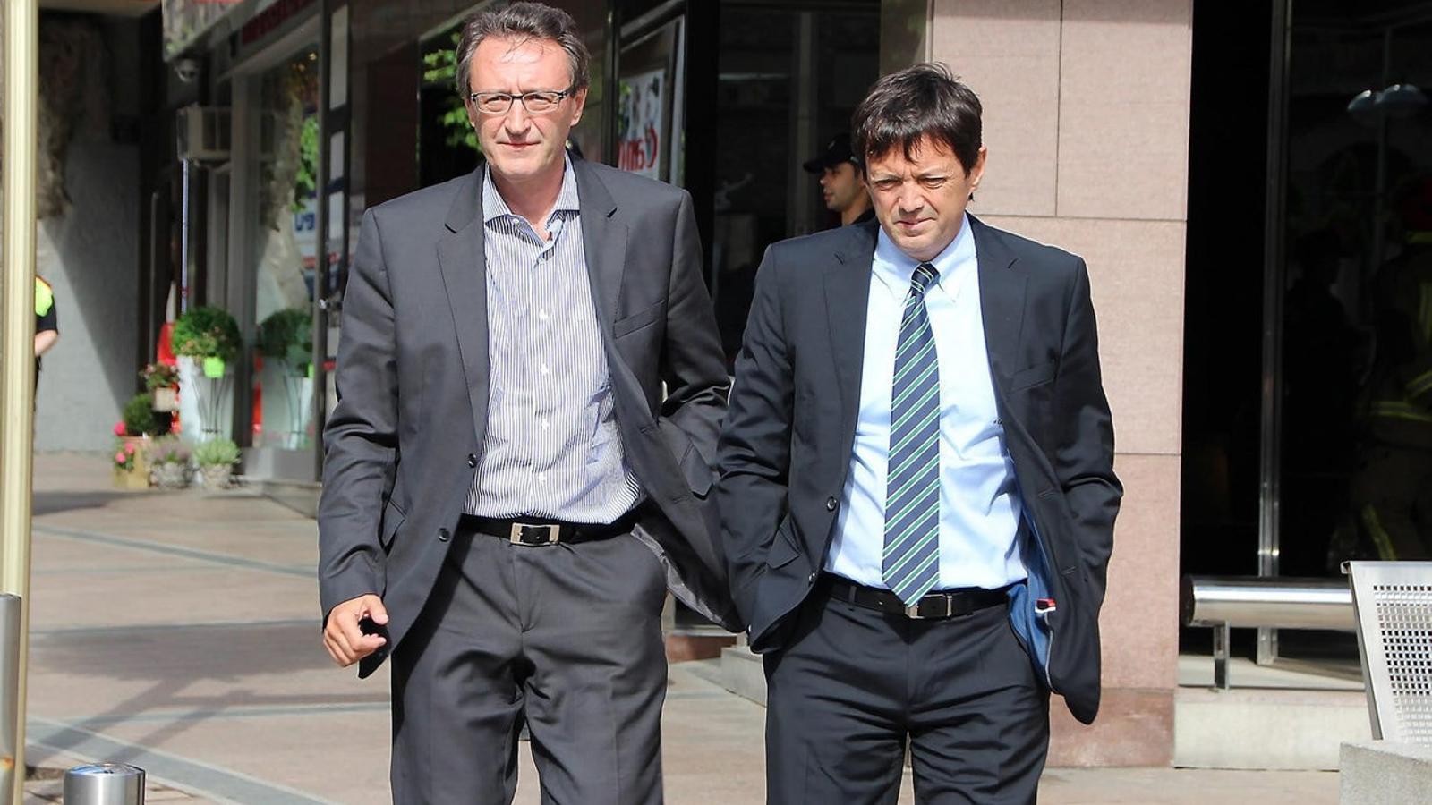 Higini i Ramon Cierco, màxims accionistes de la Banca Privada Andorrana