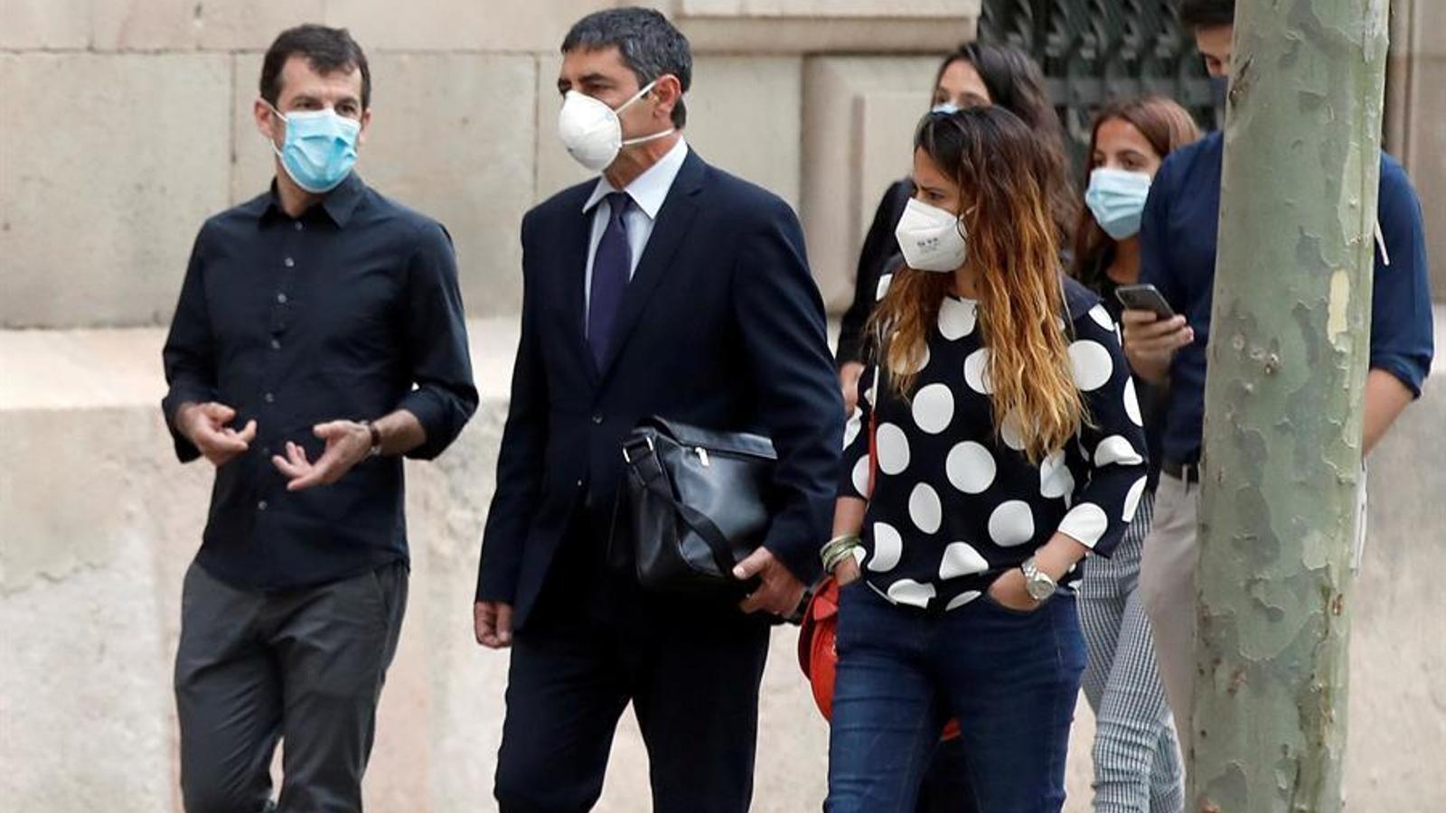 La Fiscalia rebaixa l'acusació de rebel·lió a sedició però demana 10 anys de presó a Trapero, Soler i Puig