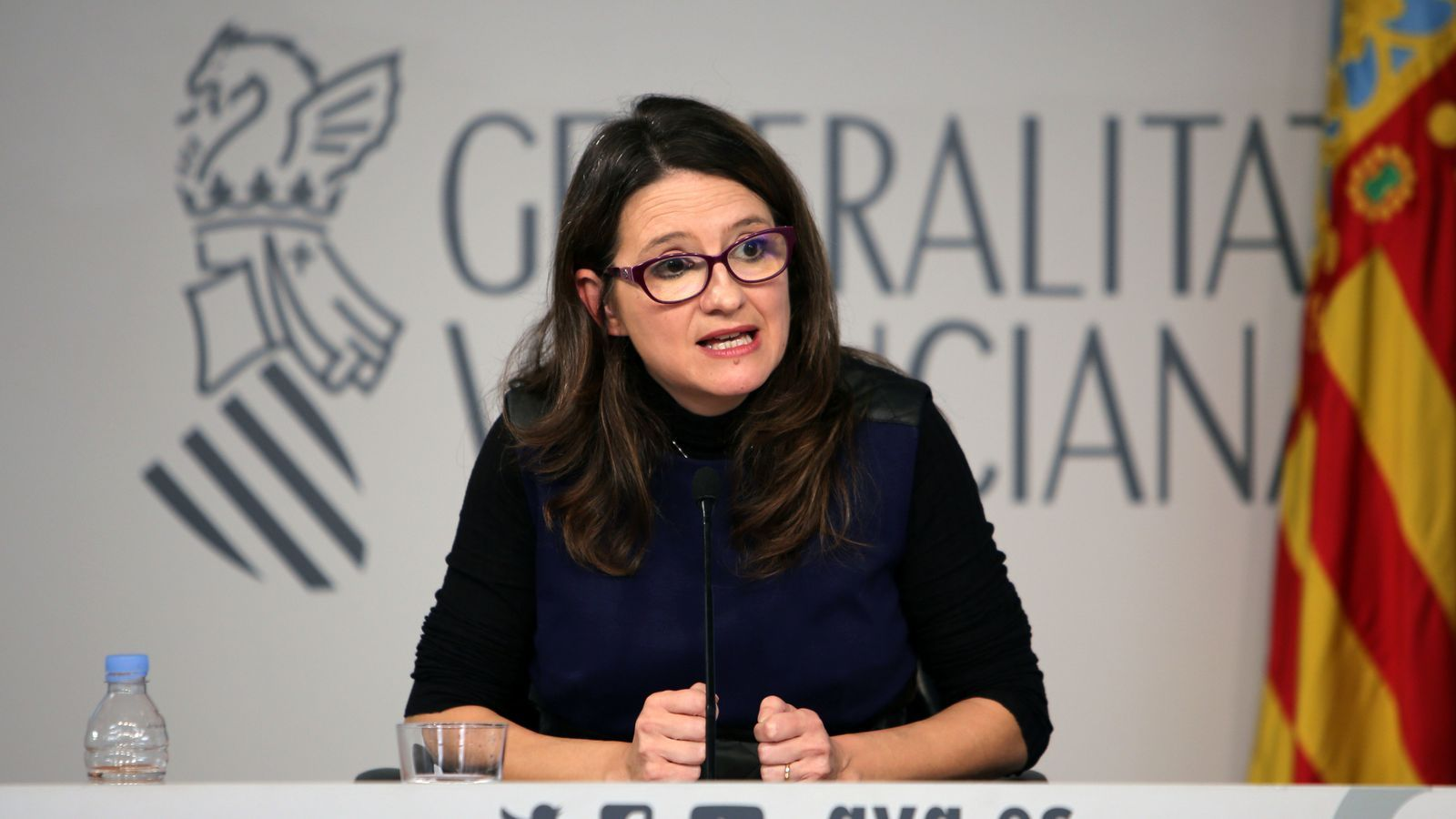 Mónica Oltra assegura que els extreballadors de RTVV són els que han declinat en diverses ocasions l'oferiment del govern a dialogar.