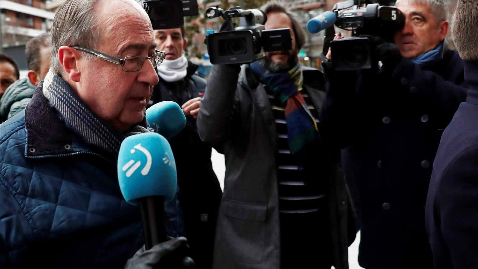 L'exgerent de l'Osasuna Àngel Vizcay arriba a l'Audiència Provincial de Navarra