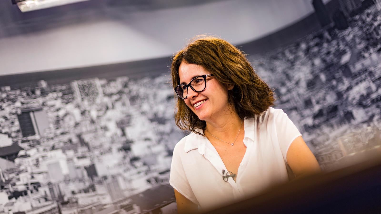 """Susanna Barreda: """"En Jordi és d'esquerres. En aquest moment la millor manera d'afrontar la situació és transcendir els partits"""""""
