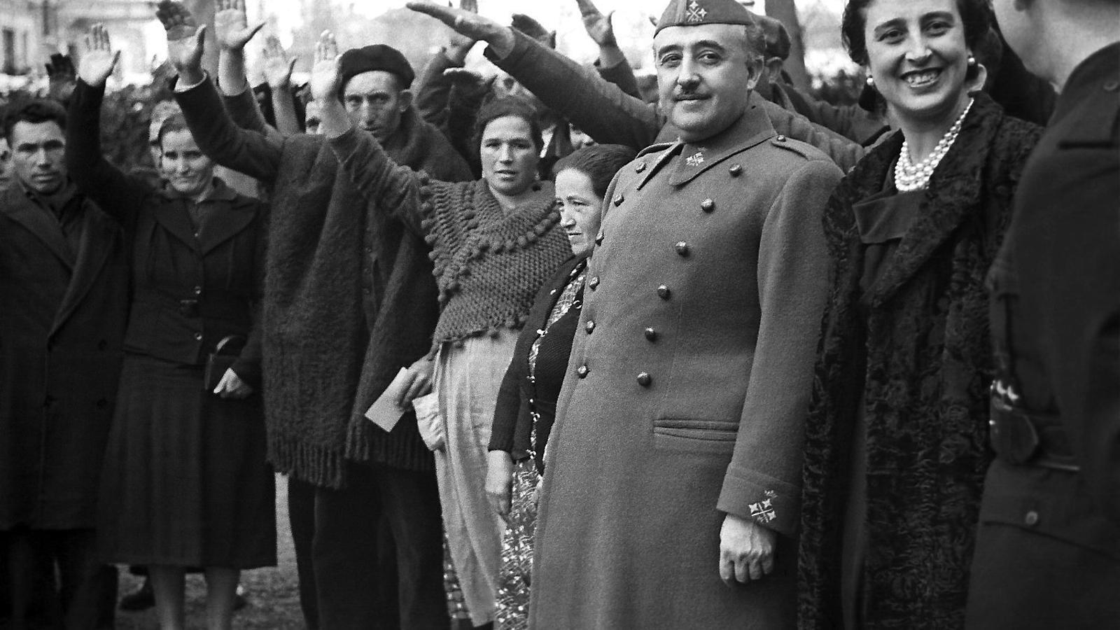 Imatge d'arxiu del dictador Francisco Franco datada el març del 1939.