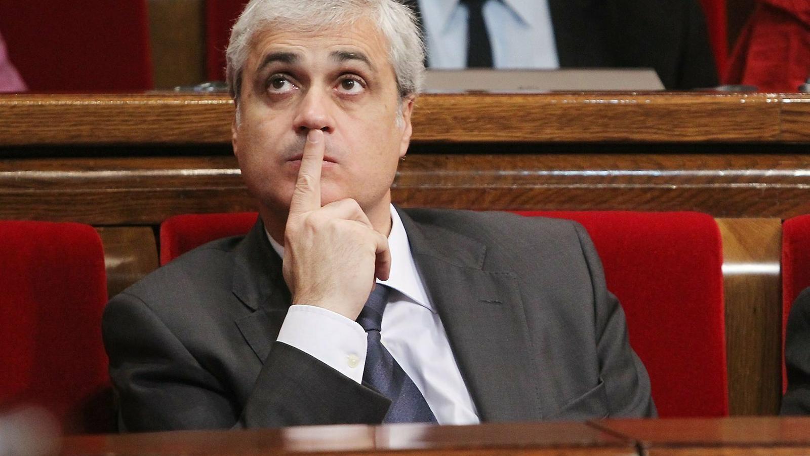 Un empresari implica Germà Gordó en el cas 3% davant el jutge De la Mata