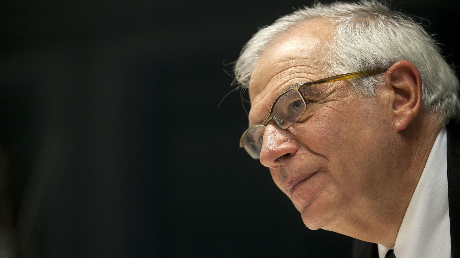 """Josep Borrell assegura que Catalunya està """"a la vora d'un enfrontament civil"""""""