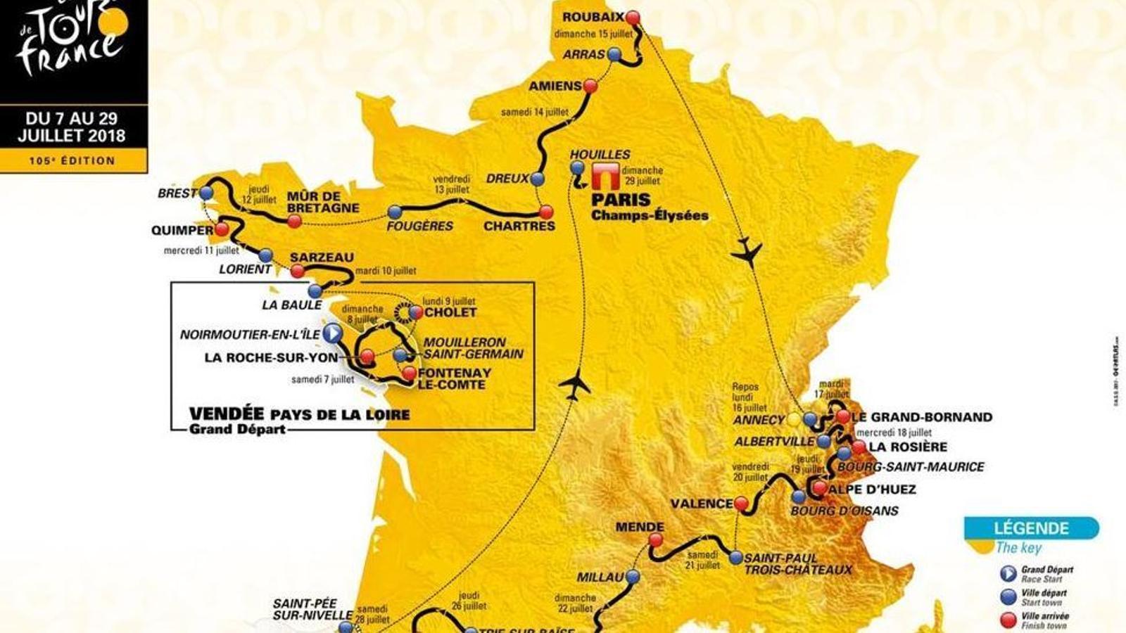 El Tour aposta per les llambordes i la innovació amb les muntanyes
