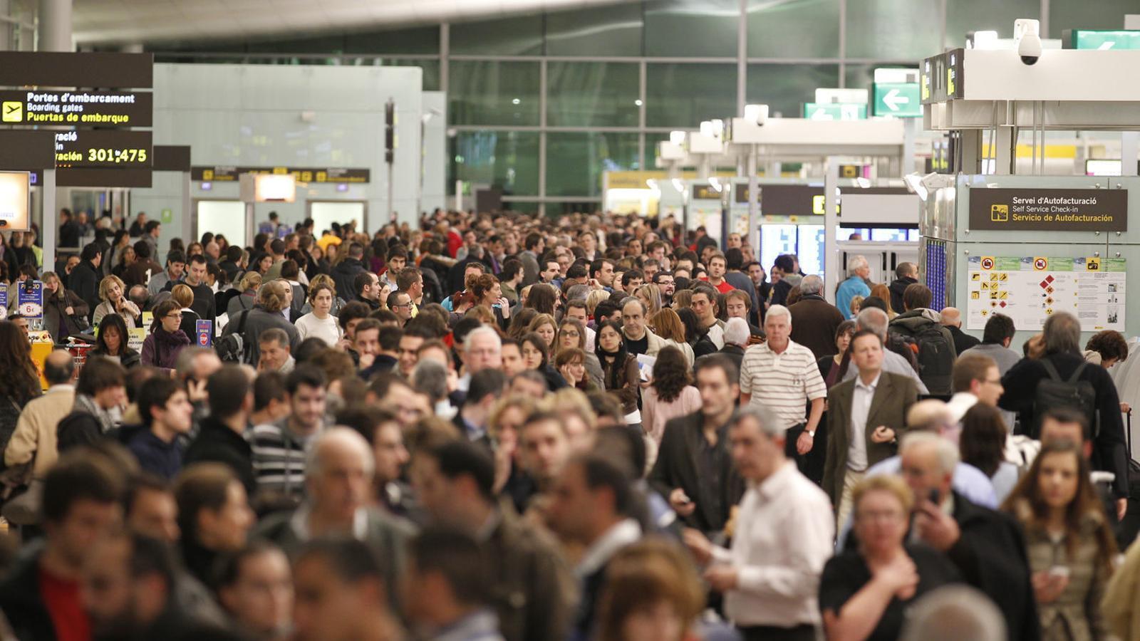 Augmenta un 8,5% el trànsit de passatgers a Son Sant Joan respecte del 2017