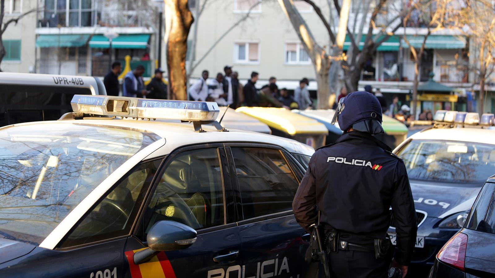 La Policia Nacional duu a terme una operació contra el  narcotràfic a Son Gotleu
