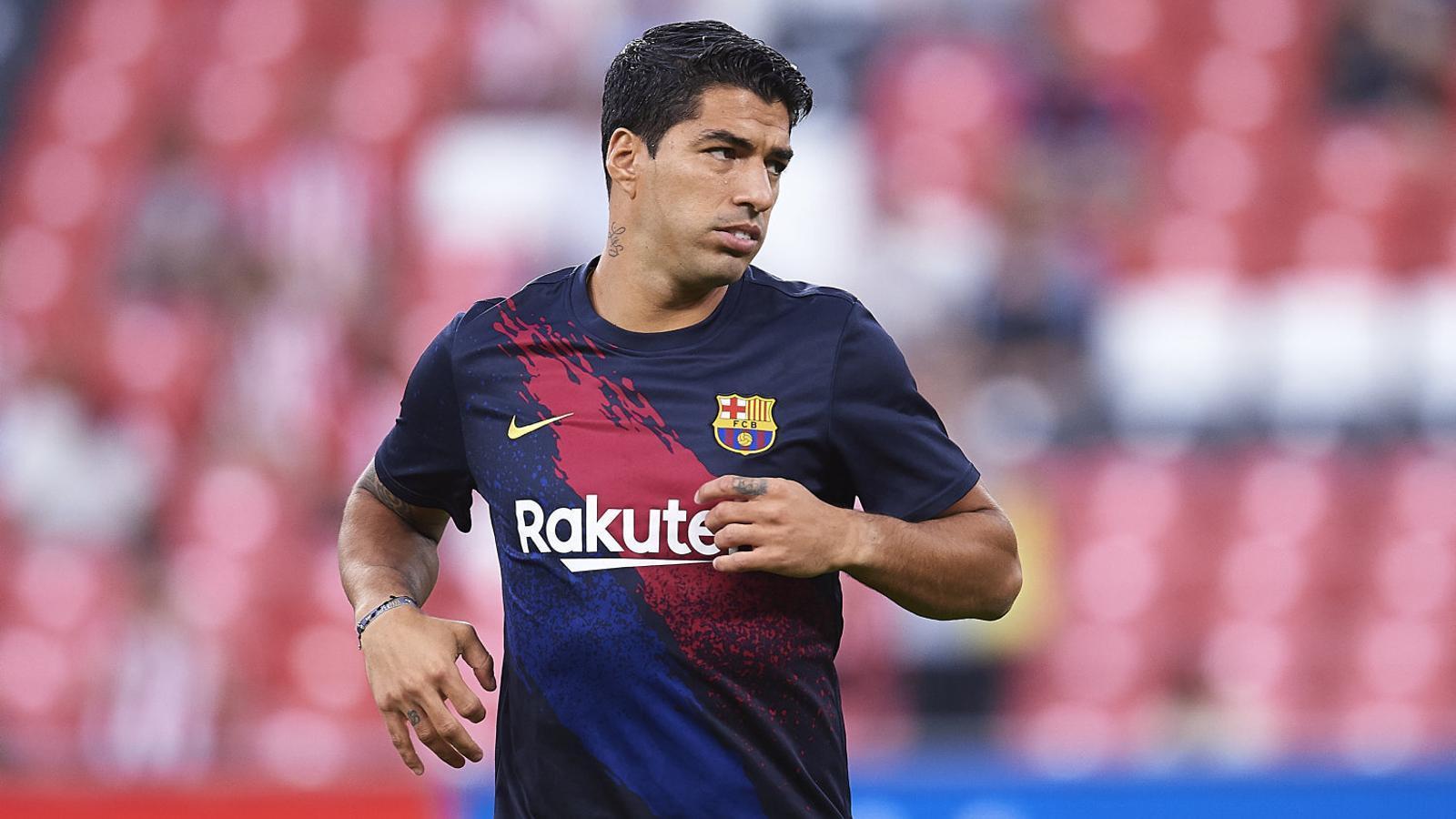 Suárez, en una imatge d'arxiu, de moment continua al Barça.
