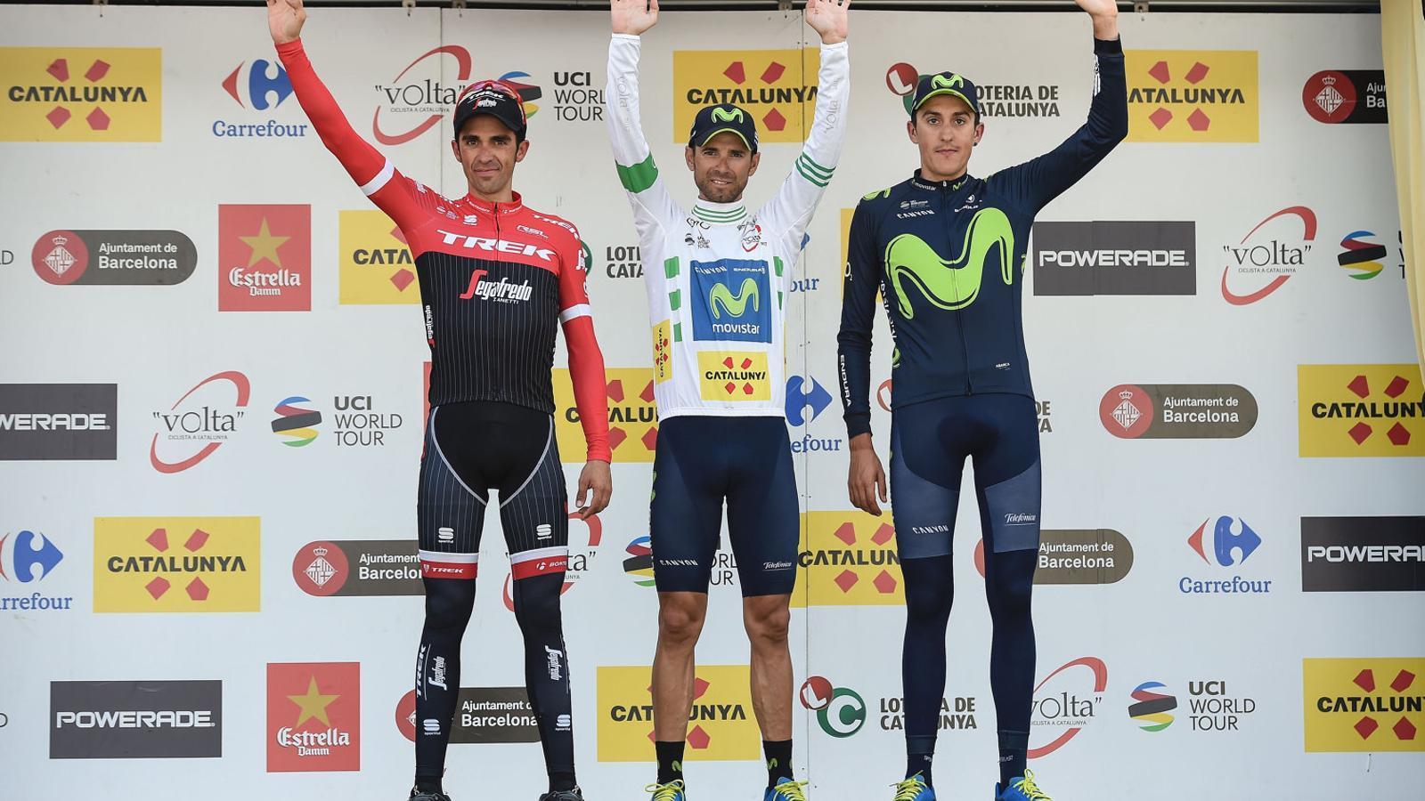 ¿Cuánto mide Alejandro Valverde? - Altura - Real height Alberto-Contador-Alejandro-Valverde-Catalunya_1766833314_39737969_1500x1001