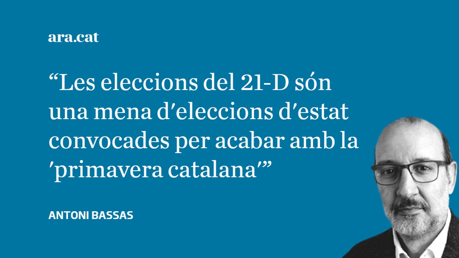 21-D: Espanya es replega en la por