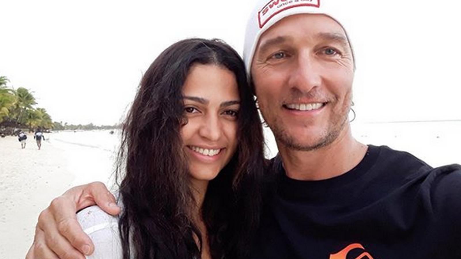 Camila Alves i Matthew McConaughey