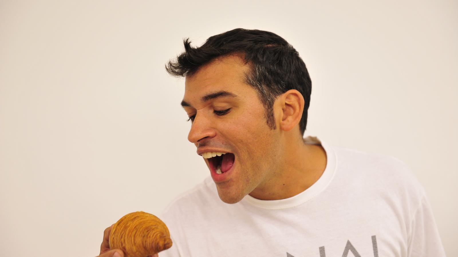 Toni Vera, de la pastisseria Canal de Barcelona, revalida títol amb el seu croissant artesà.