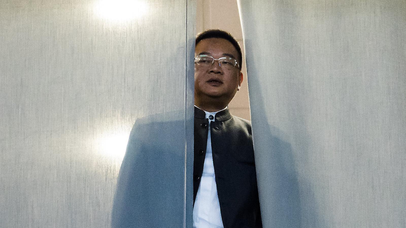 Chen Yansheng, president de l'Espanyol.