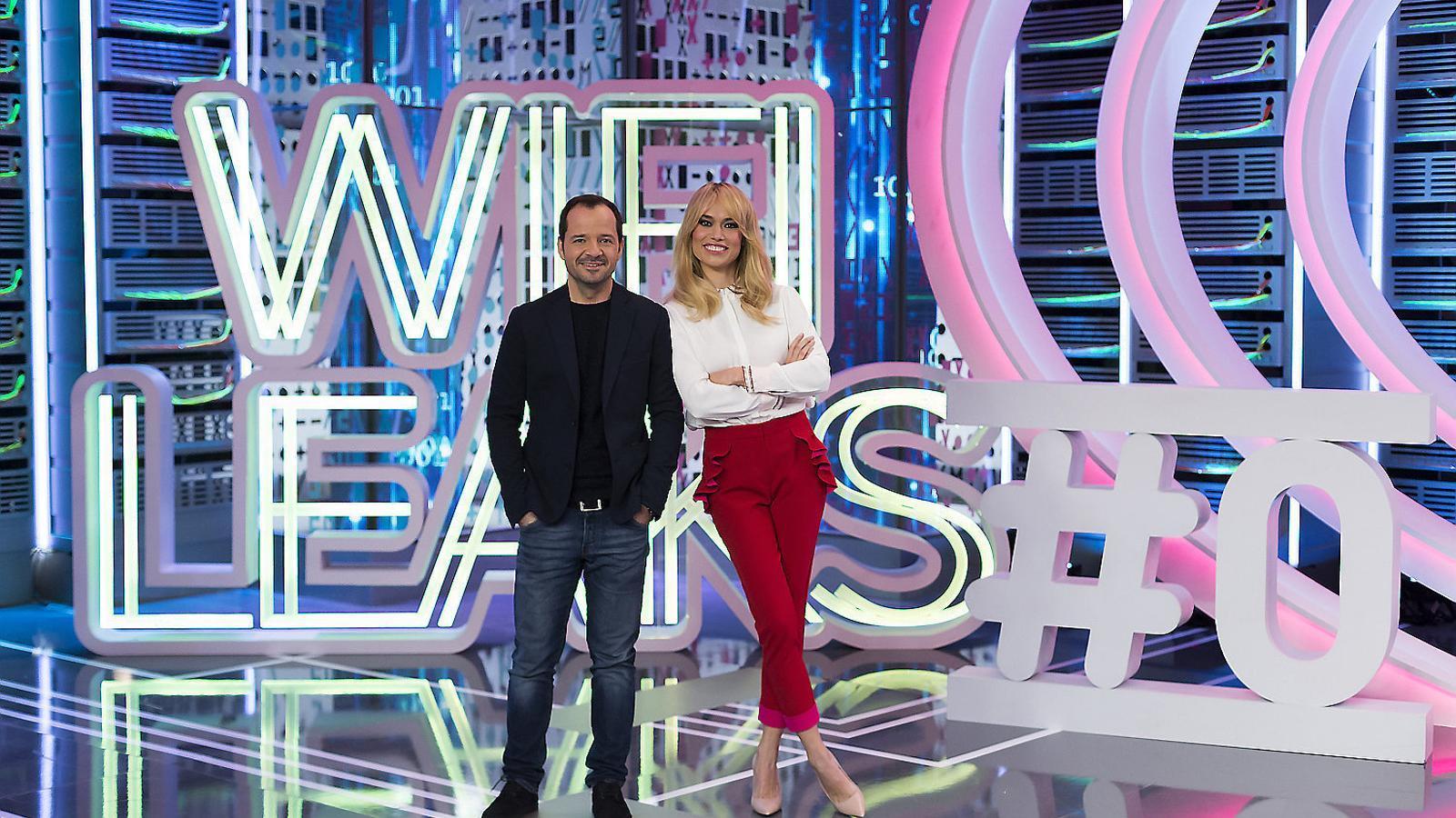 Patricia Conde i Ángel Martín viatgen al futur amb 'Wifileaks'