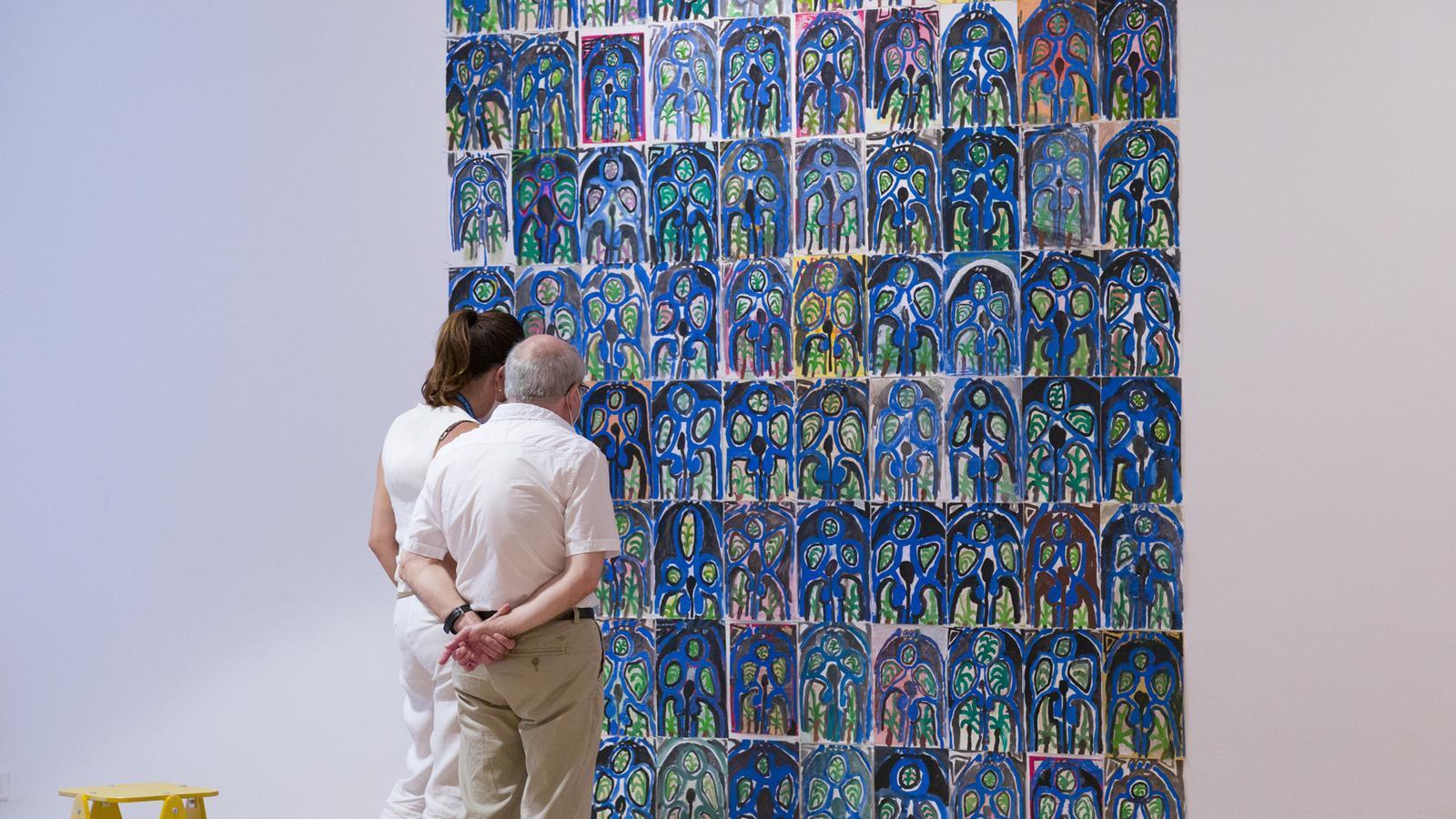 Marijn Van Kreij presenta al Museu Picasso desenes de còpies de la finestra blava de 'L'estudi' (1956)