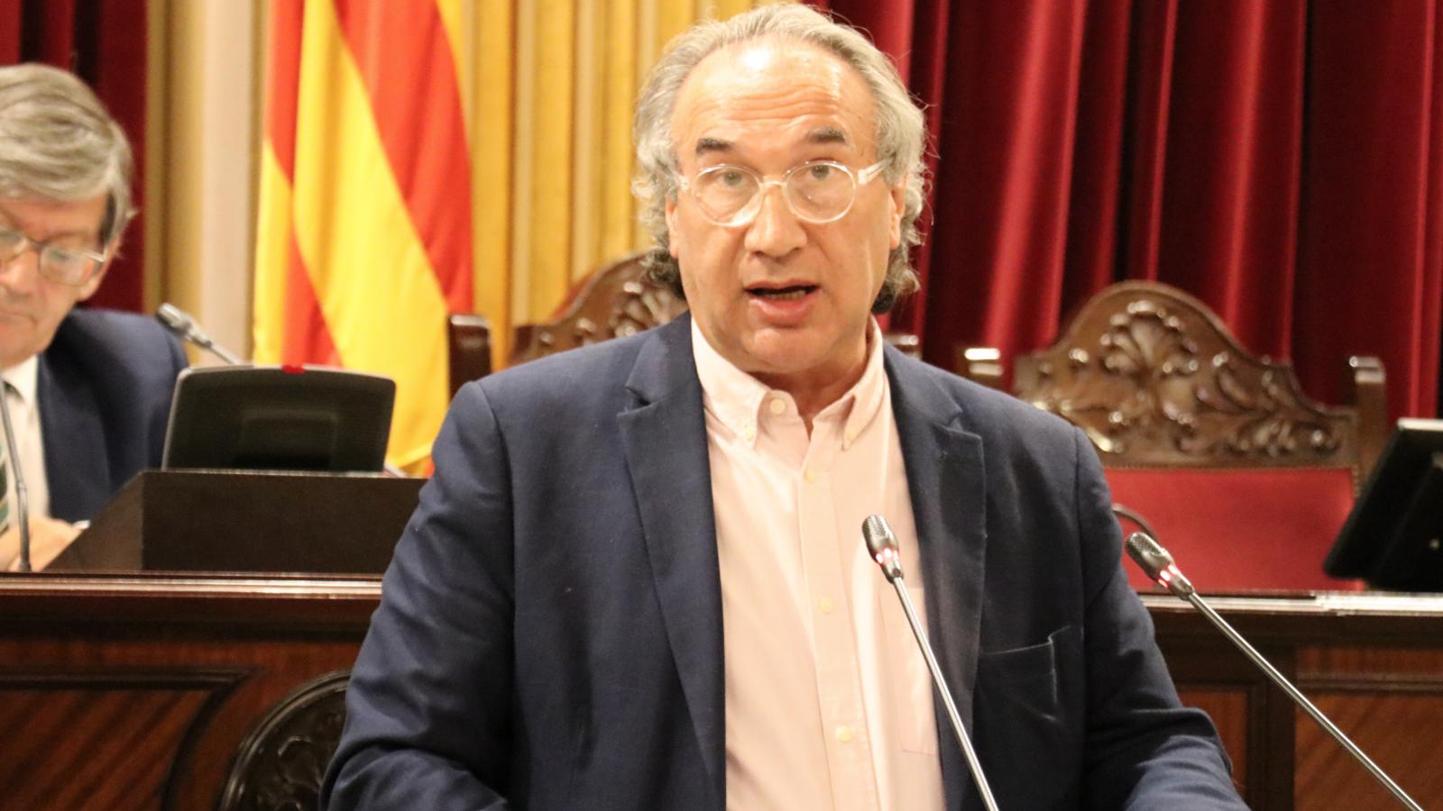 El conseller d'Educació Martí March compareix al Parlament per parlar de la desescalada educativa