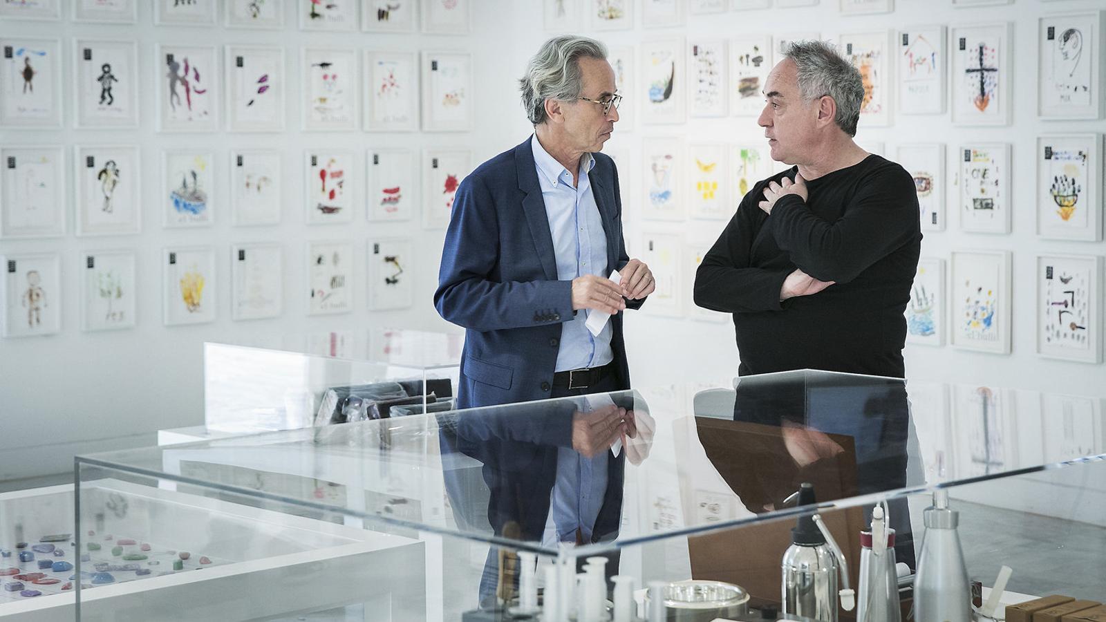 "Ferran AdriàEmmanuel Guigon: ""Els meus  ídols creatius són Picasso  i Cruyff"" Ferran Adrià"