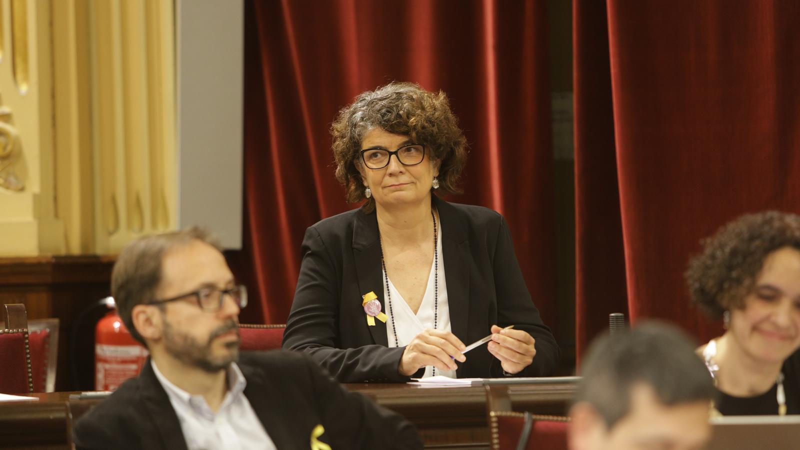 """Agustina Vilaret: """"MÉS és un projecte plural, és el grup que més representa Esquerra Republicana"""""""