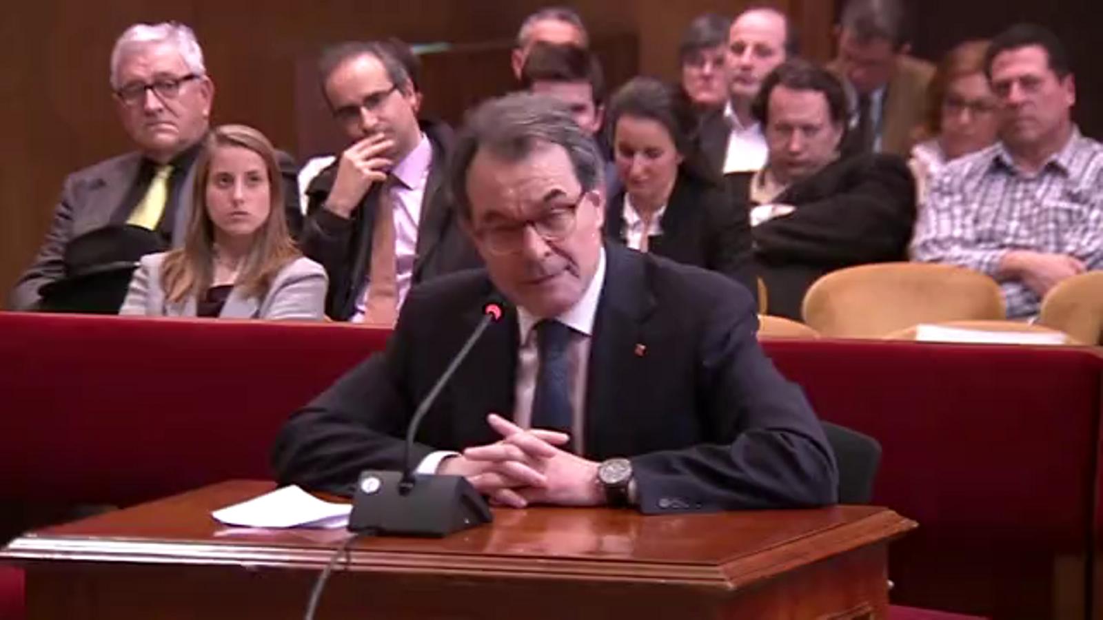 Judici 9-N: La intervenció final de l'expresident Mas